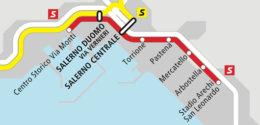 Metro of Salerno